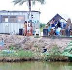 PWC. Party wake camp. Вейкстанция на косе Долгой, Азовское море