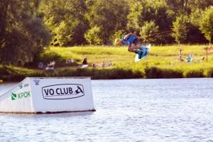 Petya Ershov at wakeboard cup Rumyantsevoi