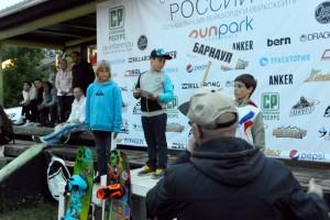 Petya Ershov at russian wakeboard championships